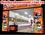 [In ấn trang trí showroom] In trang trí cửa hàng