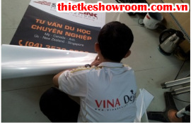 [In ấn trang trí showroom] In Poster cửa hàng