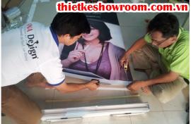 [in ấn trang trí showroom] Poster trang trí cửa hàng