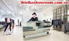 [Showroom đẹp] Thiết kế showroom thời trang nữ đẹp