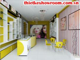 [Showroom đẹp] Thiết kế showroom mỹ phẩm cao cấp