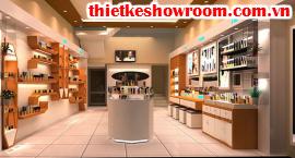 [Showroom đẹp] Thiết kế showroom mỹ phẩm và spa