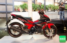 Xe Yamaha Exciter 150 đỏ đen