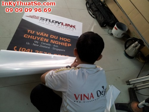 In Poster cửa hàng