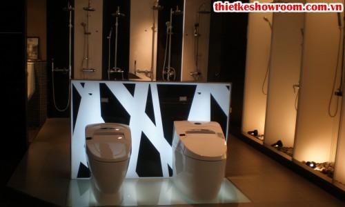 Showroom trưng bày vật liệu xây dựng nổi bật