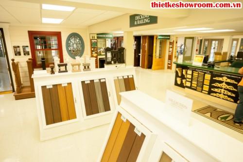 Showroom giới thiệu vật liệu xây dựng