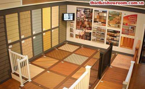 Showroom vật liệu xây dựng đẹp