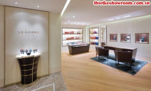 showroom trang sức BVLGARI