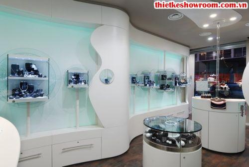 showroom trang sức Milan